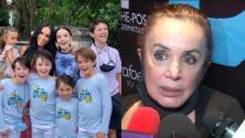 """¿Qué pasará con los hijos de Inés Gómez Mont? Su exsuegra habla de su """"lamentable"""" situación"""