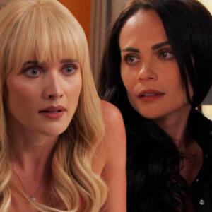 Ángela le juró a Isa que no está enamorada de Rigoberto y que no la traicionaría con él
