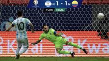 Resumen: Argentina venció en penales a Colombia tras 1-1 en los 90'