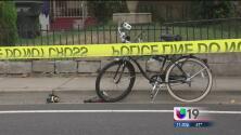 Atropellan a ciclista imprudente