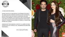 José Eduardo Derbez  anuncia que terminó su relación con Bárbara Escalante