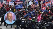 """""""Trump no mandó la ayuda que necesitábamos"""": sargento hispano describe la angustia vivida durante el asalto al Capitolio"""