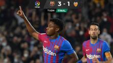 Debuta 'Kun' Agüero y Barcelona retoma el camino del triunfo