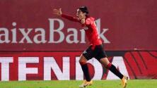 Luka Romero marca un golazo con el Mallorca