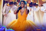 Así suena '200 Copas' de Karol G sobre el escenario de Premios Juventud
