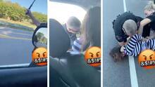 Video capta a policía cuando rompe la ventana del auto de una hispana durante una parada de tráfico