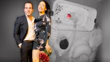 """Con """"amor en equipo"""", Carlos Calderón y Vanessa Lyon atienden el llanto de su bebé en sus primeros días de vida"""