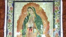 Tras ser vandalizada, feligreses restauran imagen de la Virgen de Guadalupe en California