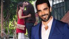 Al igual que su personaje en Si Nos Dejan, Marcus Ornellas también se ha enamorado de una mujer mayor