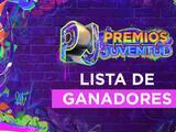 Lista completa de ganadores de Premios Juventud 2021