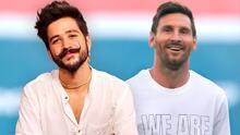 Qué platicaron Camilo y Messi luego que el futbolista fuera a su concierto
