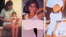 Los famosos publicaron sus fotos de la infancia y esto es lo que descubrimos