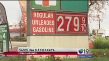 Reducción del precio en la gasolina aumenta su venta