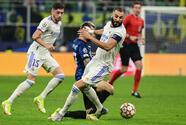 Real Madrid le gana al Inter y mantiene su buena racha en Italia