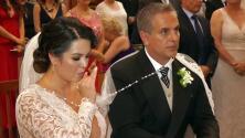 """""""No se habían divorciado"""": lo que se sabe de la expareja de Xavier Ortiz y su llegada al funeral para despedirlo"""