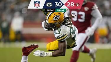 Con una espectacular serie ofensiva Green Bay venció a 49ers