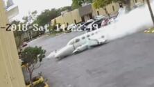 Difunden el video del momento en que una avioneta se estrella contra un centro de terapia de autismo