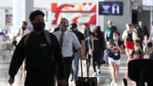 Pese a estar en una pandemia, se registra una considerable afluencia en aeropuertos de Houston