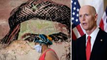 """El senador de Florida Rick Scott espera política de """"mano dura"""" de Joe Biden hacia Cuba"""