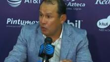 Juan Reynoso salió muy contento tras su debut triunfador con Puebla