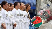 Deportistas tiran sus uniformes tras participar en los Juegos Olímpicos de Tokio y son castigadas