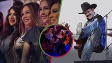 Mario Quintero enseña a Chiquis y a Larry Hernández cómo se baila 'La Chona'