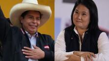 Castillo llama a la calma y Fujimori denuncia irregularidades ante ajustado margen en las elecciones en Perú
