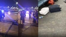Videos muestran el pánico que se vivió ante una falsa alarma en aeropuerto de Newark