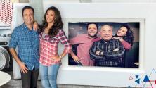 """""""Incondicional!"""": Omar y Argelia agradecen a su compañero Richard Santiago, quien ha vivido todo junto a ellos desde el inicio del programa"""