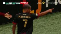 Con auténticos golazos, el Atlanta de Gonzalo Pineda tundió al DC United