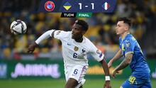 Francia rescata empate de Kiev ante una Ucrania que no sabe ganar