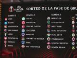 ¡Todo listo! Se definieron los grupos de la UEFA Europa League