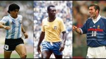 ¡Empieza lo bueno! Pelé, Maradona y Zidane, por conformar el Balón de Oro Dream Team