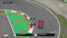 ¡Es un verdadero crack! Hamilton rebasa a Räikkönen y es nuevo líder
