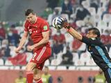 Nahuel Guzmán revela lo que le dijo a Lewandowski por la mano
