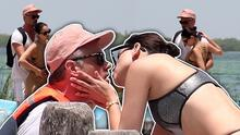 Besos y caricias en las vacaciones de Eiza González con Josh Duhamel en México