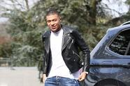 France's forward Kylian Mbappe arrives at the French national football team training base in Clairefontaine-en-Yvelines on March 18, 2019, as part of the team's preparation for the upcoming qualification Euro-2020 football matches against Moldavia and Island. (Photo by FRANCK FIFE / AFP) (Photo credit should read FRANCK FIFE/AFP via Getty Images)