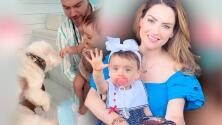 La hija de Michelle Galván ya se está alistando para darle la bienvenida a un nuevo miembro en su familia