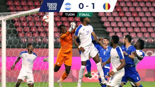 Honduras cae ante Rumania y es última del Grupo B en Tokyo