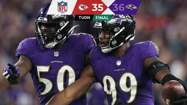 Lamar Jackson y su defensa llevaron al triunfo a Ravens
