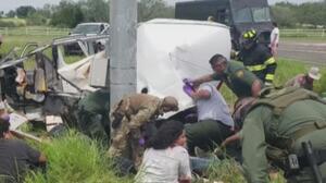 Lo que se sabe del accidente de una camioneta con inmigrantes que dejó al menos 10 muertos en Texas
