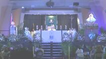 Cientos de personas llegaron con flores amarillas a honrar a la Virgen de la Caridad del Cobre en Miami