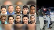 Arrestan a 10 hombres que planificaron encuentros sexuales con niños en Florida