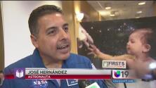 """José Hernández promueve campaña """"First 5"""""""