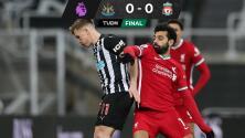 El Liverpool deja ir dos puntos valiosos tras empatar con Newcastle