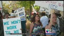 Empleados del tribunal de Santa Clara se declararon en huelga