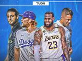 Lakers y Dodgers dan la cara por Los Angeles, LAFC es incertidumbre y Galaxy sufre