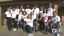 Univision 19 participa en la construcción de un hogar para familias californianas