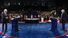En un minuto: Trump y Biden se acusaron mutuamente de malos manejos de políticas migratorias en el último debate