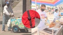 Así entrenan a vendedores ambulantes hispanos para evitar que sean robados